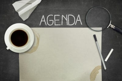 sales & marketing agenda